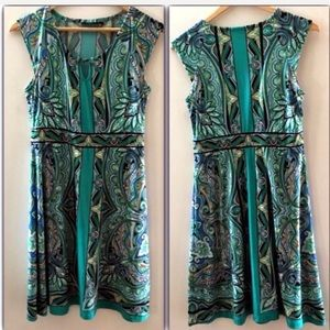 APT 9 Sea jewel tone stretch dress